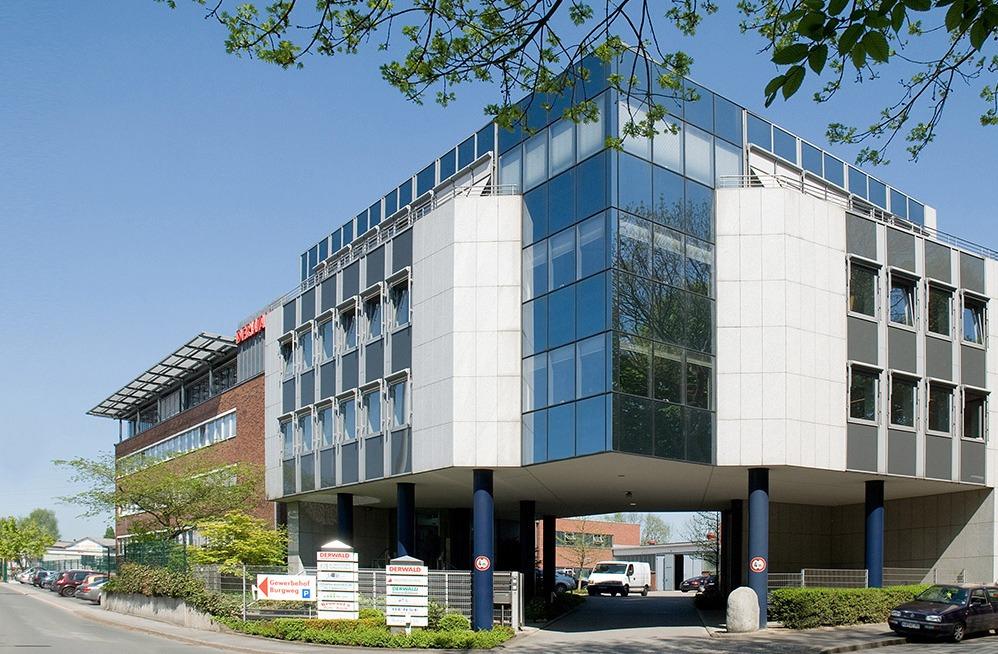 Firmensitz der Unternehmensgruppe DERWALD