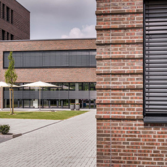 Gebäude der GWS 2 in Münster