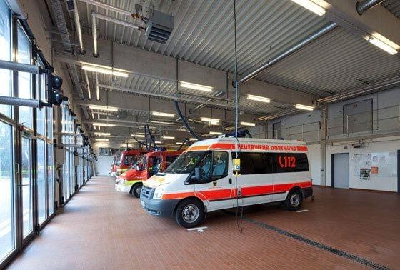 Feuerwache Dortmund Fahrzeuge