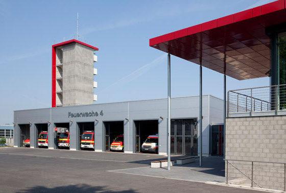 Feuerwache Dortmund Gebäude von außen