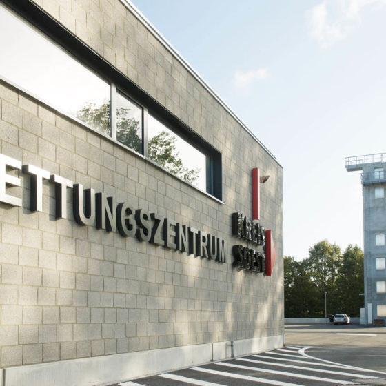 Rettungszentrum Soest Schild