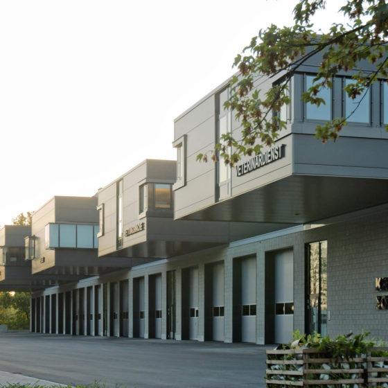 Rettungszentrum Soest von Außen