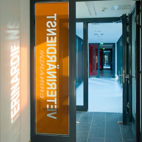 Rettungszentrum Soest Tür