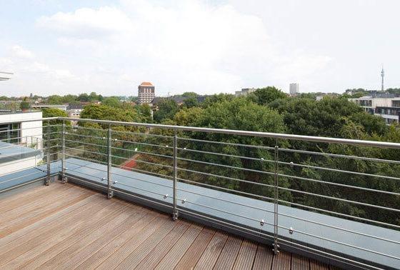 Sapere Dortmund Balkon