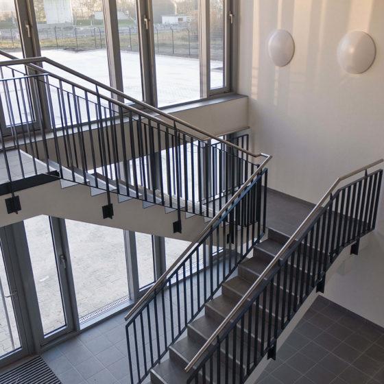 THW Werne Treppenhaus Innen